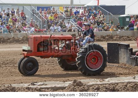 Red Allis Chalmers Tractor