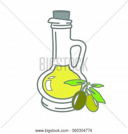 Olivve Oil Glass