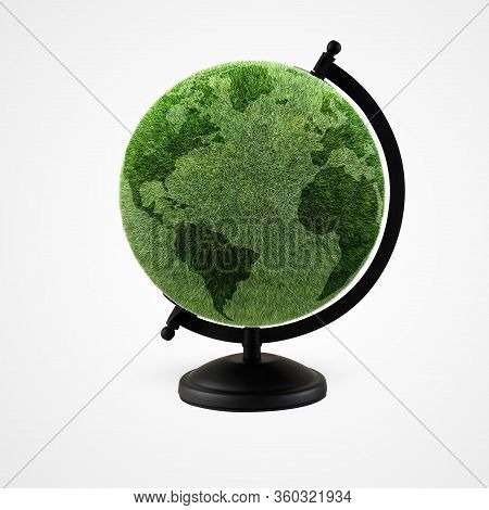 Ecology Concept, World Environment Day, Earth Day, 22 April, Green Earth, Tree Planting And Green Ea