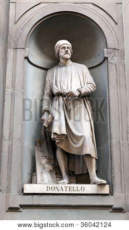 Donato di Niccolo di Betto Bardi (1386 - 1466), also known as Donatello, was an early Renaissance Italian artist and sculptor from Florence. poster