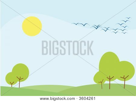 Pastel Backgrounds - Forest