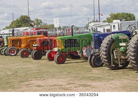 Tractors In Wait