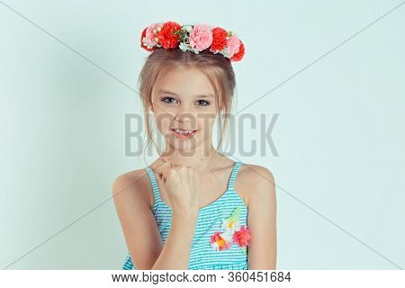 Fig. Closeup Portrait Upset Woman Gesturing With Thumbs, Finger That You Get Zero Nothing, Isolated