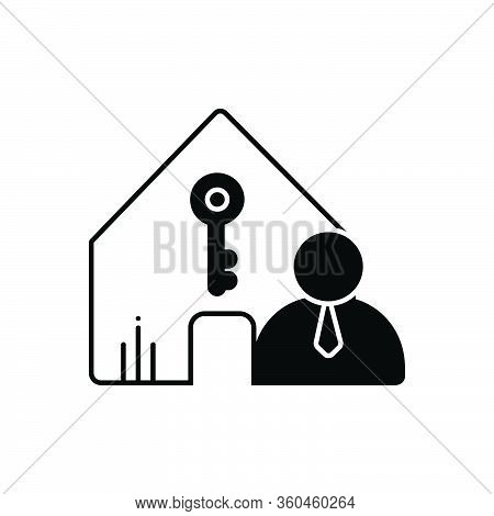 Black Solid Icon For Landlord-insurance Landlord Insurance Accommodation Property Policy