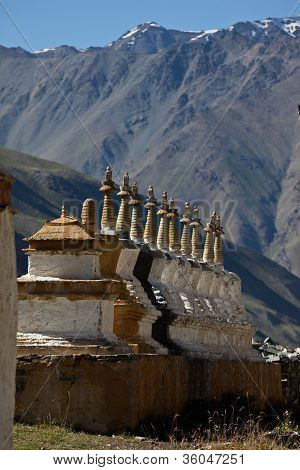 Budhist Stupas