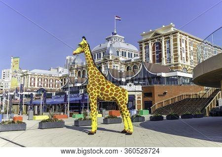 Scheveningen, The Netherlands - April 2020: Legoland Discovery Centre Scheveningen The Netherlands 6