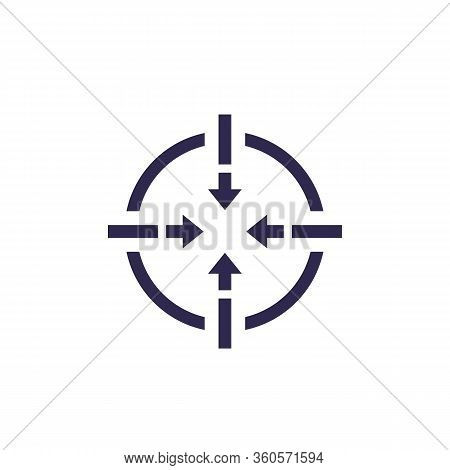 Focus Icon, Vector, Eps 10 File, Easy To Edit