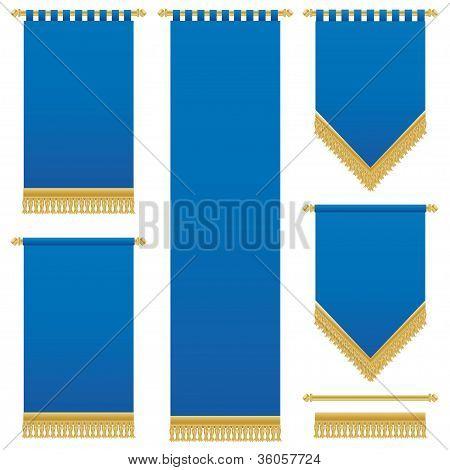 Blue Wall Hangings