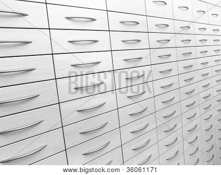 Abstract Cabinet