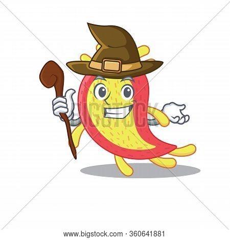 Azorhizobium Caulinodans Sneaky And Tricky Witch Cartoon Character