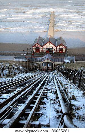 Saltburn Funicular Railway and Pier