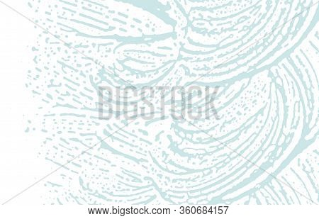 Grunge Texture. Distress Blue Rough Trace. Bold Background. Noise Dirty Grunge Texture. Majestic Art