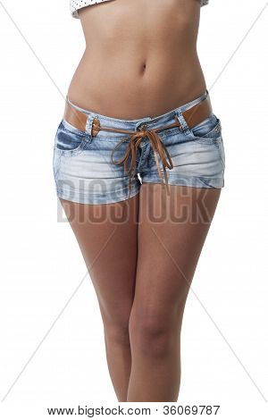 Beine einer Frau