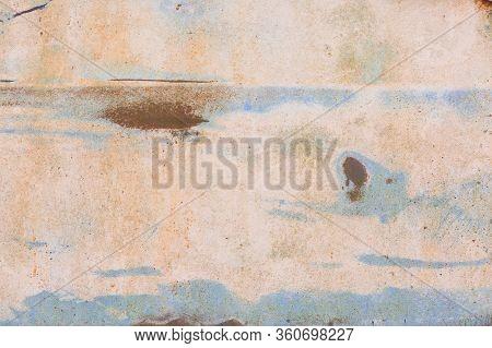 Old Rusty Textured Metal