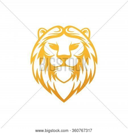 Lion. Lion vector. Lion logo. Lion Logo vector. Lion Head logo. Lion icon vector. Lion icon. Lion Shield Logo. Lion vector icon. Lion King Logo. Luxury Lion Logo. Lion Emblem Logo. Lion Crest Logo vector isolated flat on white background.