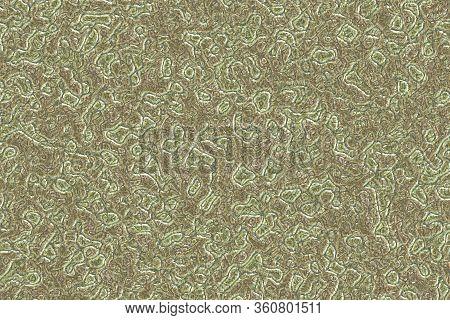 Design Modern Slimy Monster Tissue Digital Art Background Or Texture Illustration