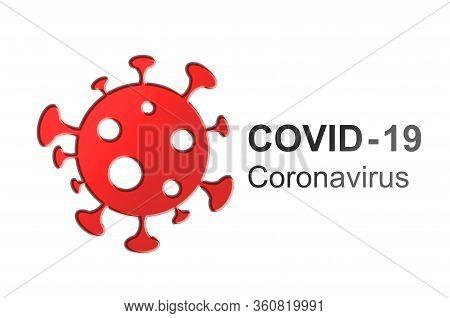 Coronavirus COVID-19 virus symbol. COVID-19. Icon. Coronavirus outbreak. Prevention of Covid. Global