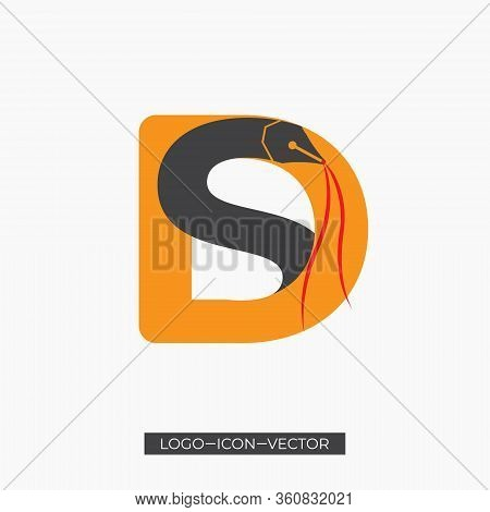 Ds Letter Logo With Creative Modern Business Typography Vector Template. Creative Abstract Letter Ds