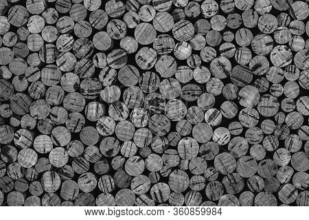 Background Texture Of Cork From The Cork Tree