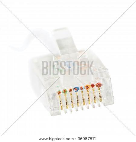 Lan Internet Ethernet Broadband Network Connection Rj45, Isolated Rj-45 Jack Net Connector Plug And