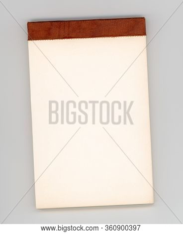 Blank Notepad With Copy Space
