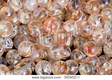 Abstract Glass Marble Background