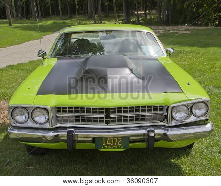 1973 Plymouth Satellite Front