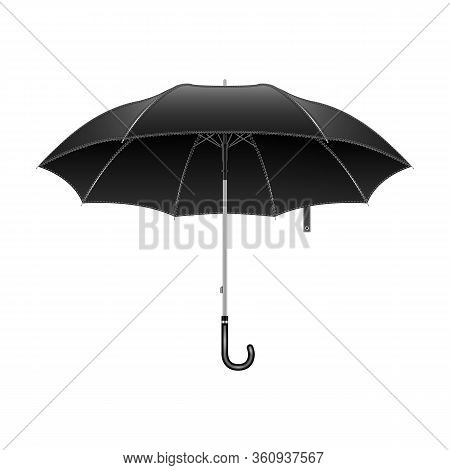 Umbrella Vector Icon.realistic Vector Icon Isolated On White Background Umbrella.