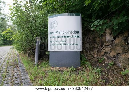 JENA, GERMANY - MAY, 29, 2016:The Max Planck Institute for the Science of Human History in Jena was founded in 2014 to target fundamental questions of human history and evolution since the Paleolith