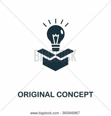 Original Concept Icon. Simple Illustration From Digital Law Collection. Creative Original Concept Ic