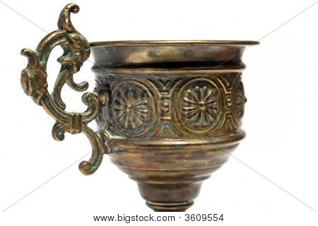 Beautiful Detail On Ancient Grail