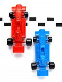 Model F1 Formula One racing cars plastic toys poster