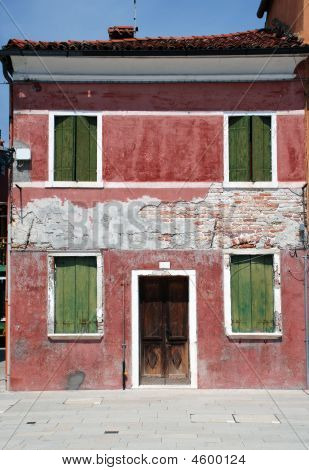 House On Burano, Venice