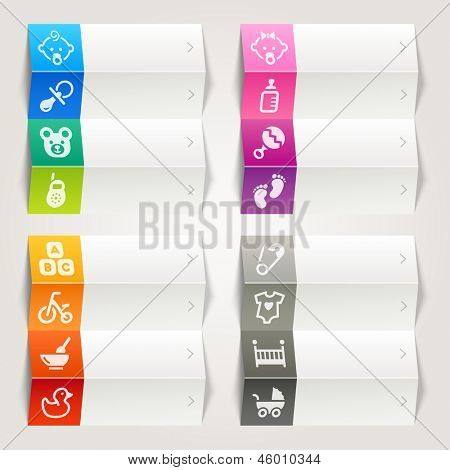 Rainbow - Baby icons / Navigation template