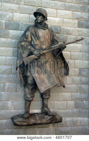 Statua soldato
