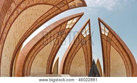 Das Denkmal von Pakistan, Islamabad