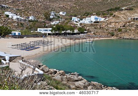 Paradise beach at Mykonos island