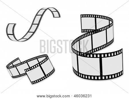 film strip set poster