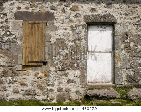 Close-up Of Buron (traditional House In Centre France)