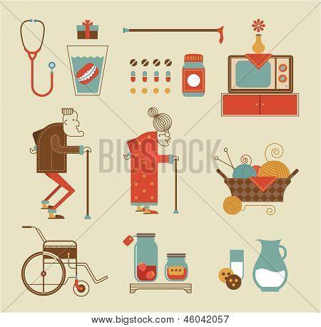 Granny icons