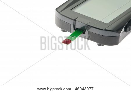 diabetic blood test meter