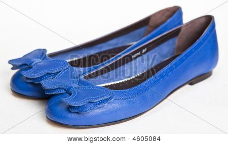 Blue Women's Shoes