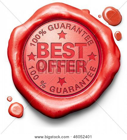 best offer lowest price and best value for the money web shop icon or online promotion stamp or label for internet webshop