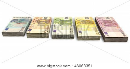 Euro Notes Collection Front