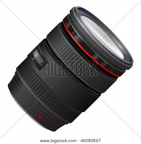 A Photo Lens Illustration