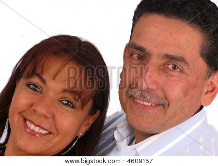 Love Couple Smiling