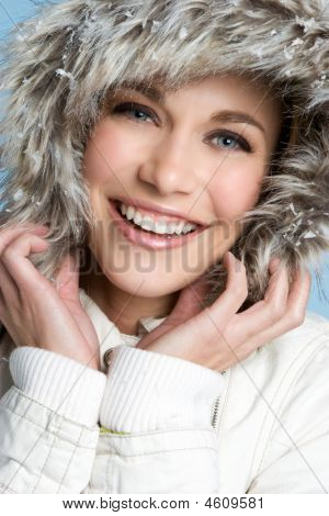 Beautiful Winter Fashion Blonde