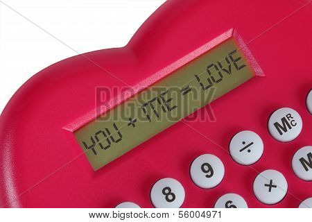Red Calculator