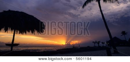 Sunset At Bayahibe-dominican Republic