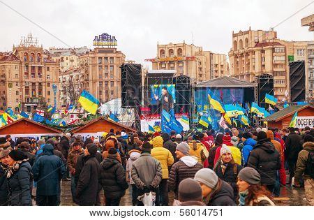 Anti-governmental Protests In Kiev, Ukraine